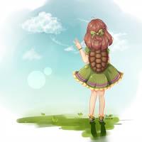 -Gift // Turtle by NawaeDana