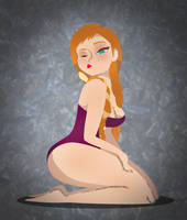 Anna Pinup by theskadudeguy