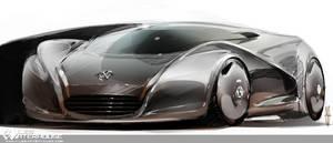 VW supercar by slime-unit