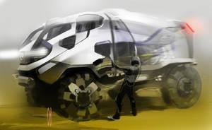 Mercedes Dakar Truck by slime-unit