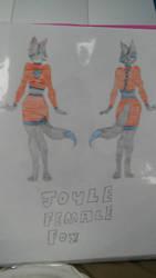 my female fursona by rainbowdash24191997