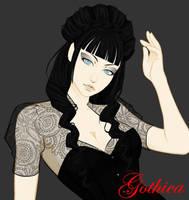 Gothica tease by shidabeeda