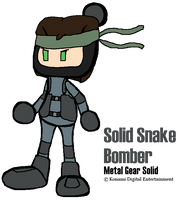 Solid Snake Bomber by FZone96