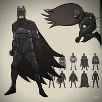 Batman V1 by dionbello