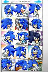 Sonic's Face Impressions Meme by LiyuConberma