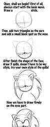 Tutorial of drawing Sonic by LiyuConberma