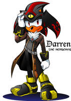 Darren the Hedgehog Mobius Style by LiyuConberma