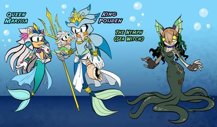 Previous Royal Hedgehog Family of Atlantis by LiyuConberma