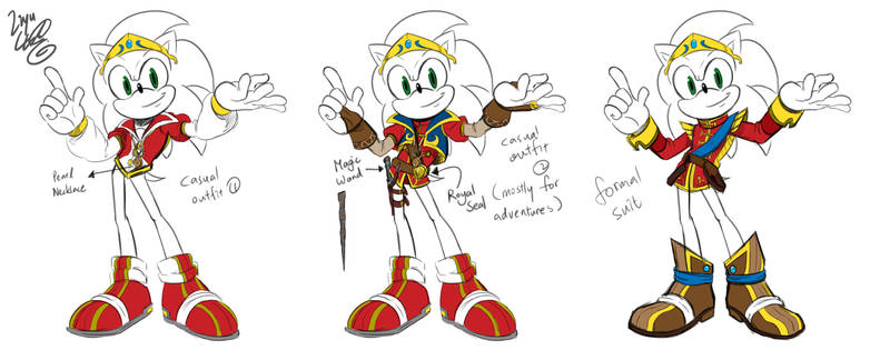 Prince Sonic-Cosium Outfits by LiyuConberma