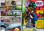 Teen's Play Issue 1 Page 36-37 (End of Issue 1) by LiyuConberma