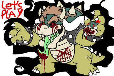 I am bowser .exe now sonic .exe is no more by kraidzilla