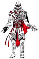 Ezio Auditore da Firenze by The-fishy-one
