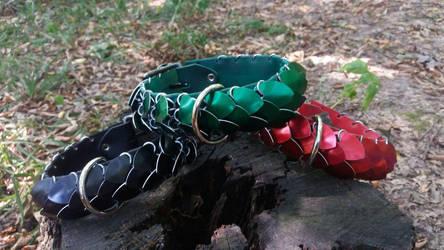 Basic color collars by Ilirej
