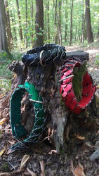 Basic color collars 2 by Ilirej
