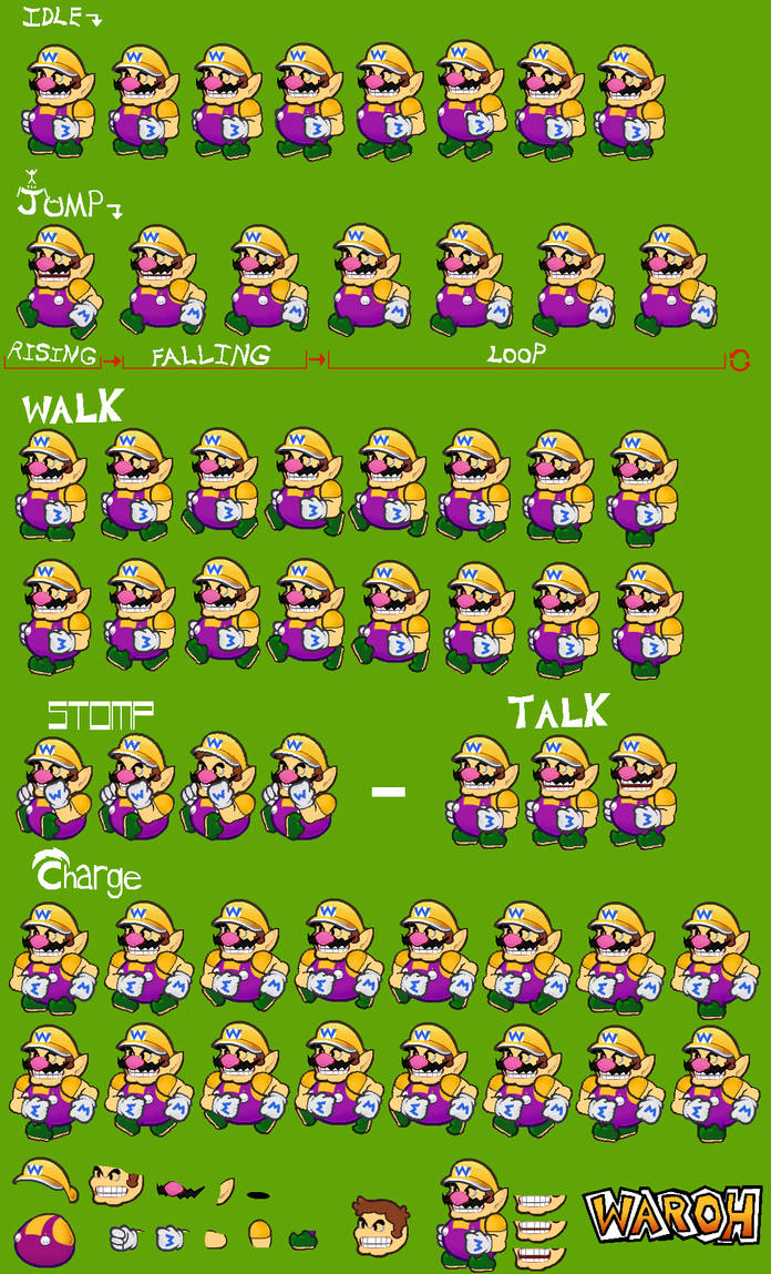 Paper Wario by Waroh