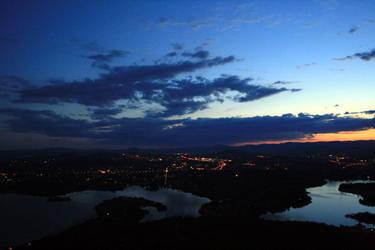 Black Mountain Night by tayloma