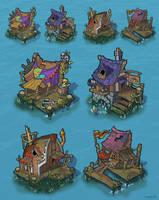 Pirate buildings by krzyma