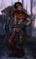 raider Barrett. by Notesz