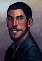 portrait commission: Blizzard. by Notesz
