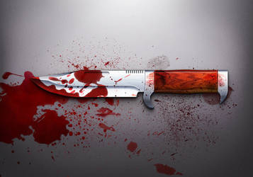 bloody knife icon by BlueX-Design