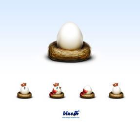 Alternative Eggs by BlueX-Design