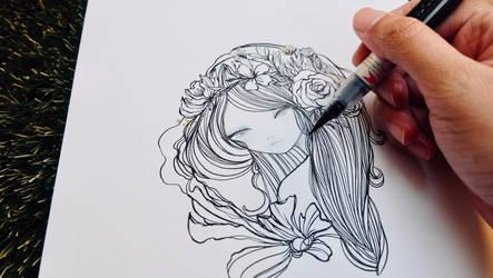 Iris by Dakiedoodles