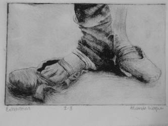etching by dancingNdarkness