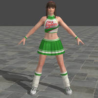 Dead or Alive 5 Ultimate - Cheerleader - Hitomi by Irokichigai01