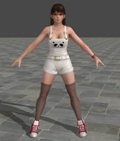 Dead Or Alive 5 Ultimate - Overalls - Lei Fang by Irokichigai01