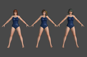 DOAX3 -Piscis- Pack1 by Irokichigai01