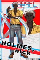 [awafl] Nick Holmes by TopHatta