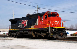 CN 2113 on the IHB by JamesT4