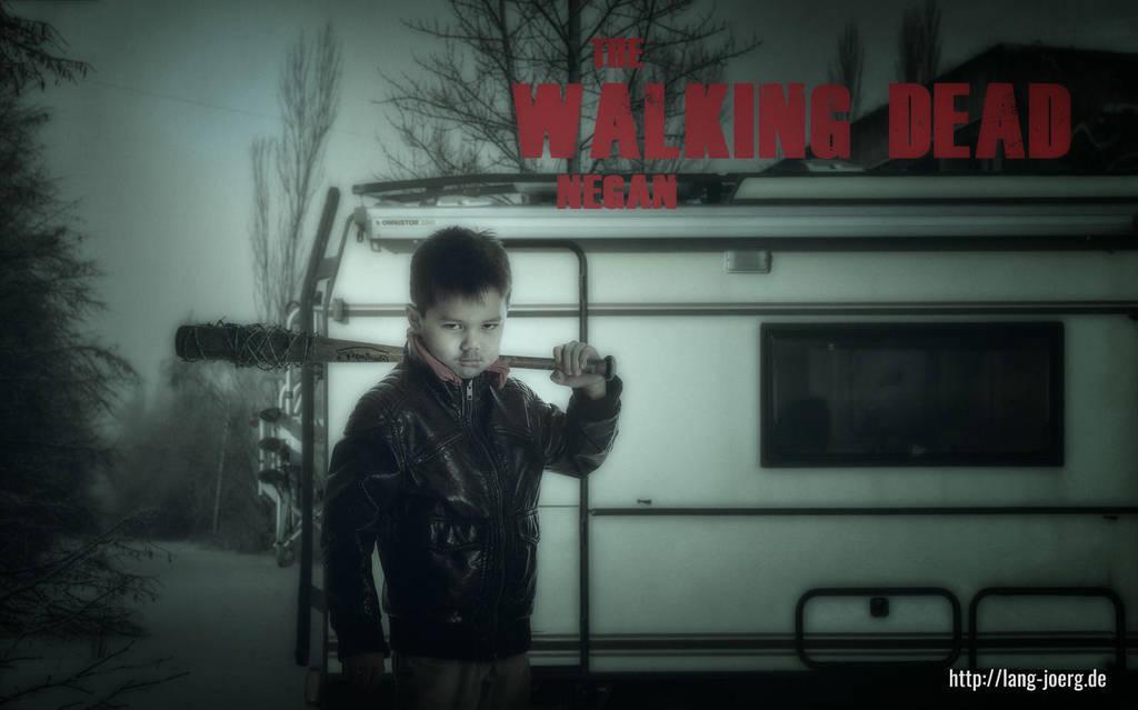 Negan Walking Dead by jokkels