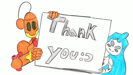 thank you by ManchinesAndMonsters