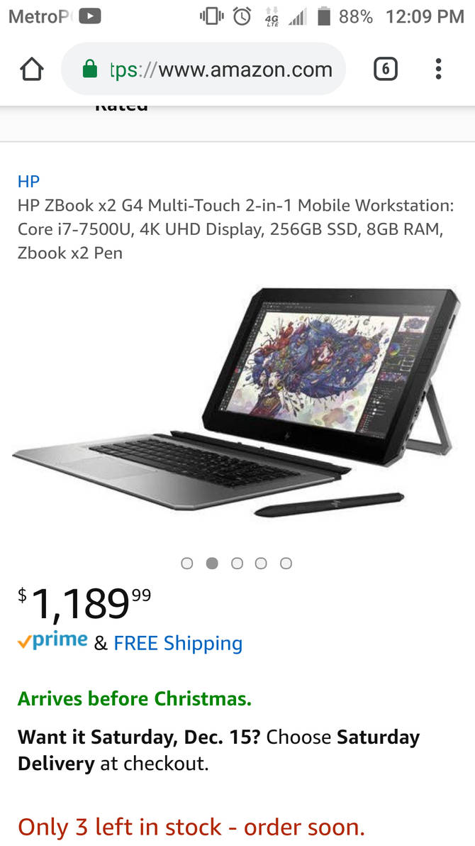 The PC I want to get HP ZBOOK x2 by ManchinesAndMonsters