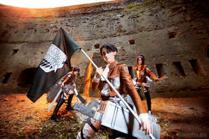 War of human against  titan by skyrap