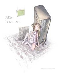 Ada Lovelace by Laoism