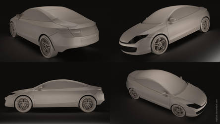 Renault Laguna Coupe WIP by mpt1st