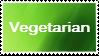 Veggie Stamp Series #2: Vegetarian by H1EROGLYPH