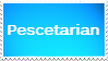 Veggie Stamp Series #6: Pescetarian by H1EROGLYPH