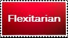 Veggie Stamp Series #7: Flexitarian by H1EROGLYPH
