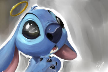 Stitch sketch by theartofraku