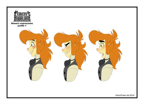 - Shane's Expressions Sheet 1_Profile - by PencilTree