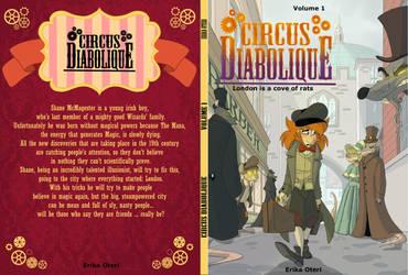 - Circus Diabolique_Book Cover_Volume 1 - by PencilTree