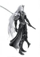 Final Fantasy VII- Sephiroth by Lifeconsumer102