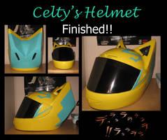 Durarara- Celty Helmet by Lifeconsumer102