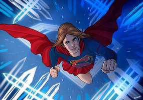 Supergirl by ChardReyes77