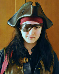 Leather Pirate Hat by Jonzou