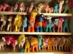 Ponies Ponies Ponies by KarRedRoses