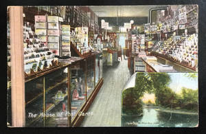 Postcard from the Postcard Shop 1909 by KarRedRoses